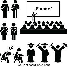 izbogis, főiskola, egyetem hallgató