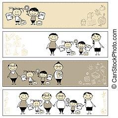 izbogis, hát, -e, tervezés, szülők, szalagcímek, gyerekek