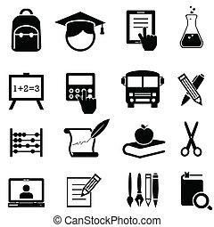 izbogis, oktatás, tanulás, ikonok