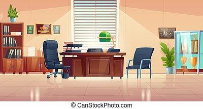 izbogis, principals, vektor, hivatal belső