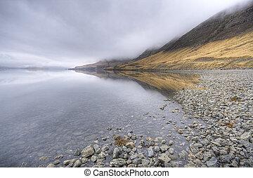 izland, fjord