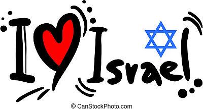 izrael, szeret