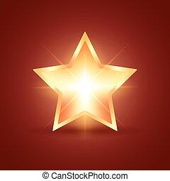 izzó, csillag