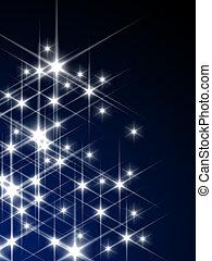 izzó, csillaggal díszít