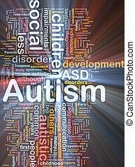 izzó, fogalom, autism, háttér