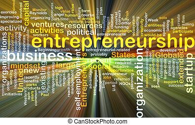 izzó, fogalom, háttér, vállalkozói szellem
