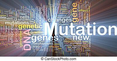 izzó, fogalom, mutáció, háttér