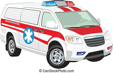 jármű, orvosi