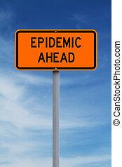 járvány, előre