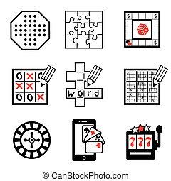 játék, 2, rész, ikonok