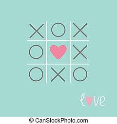 játék, szív, tervezés, kereszt, tac, szeret, aláír, kék, lakás, kártya, lábujj, arcrángatózás, megjelöl