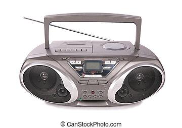 játékos, mini-system, audio, rádió