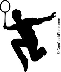 játékos, tollaslabda