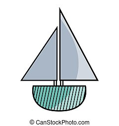 játékszer, tervezés, csónakázik