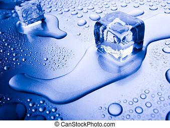 jégkockák