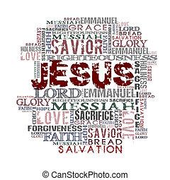 jézus, vallásos, háttér