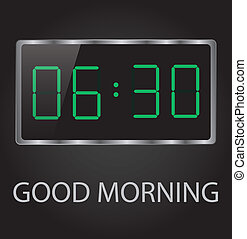 jó reggelt