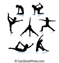 jóga, testedzés