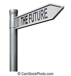 jövő, út