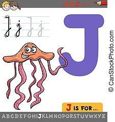 j, karikatúra, levél, medúza