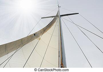 jacht, nyílt tenger