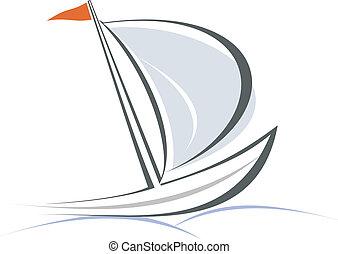 jacht, vitorlás hajó