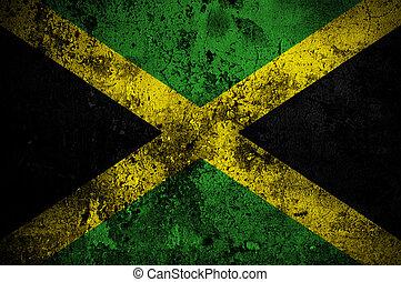 jamaica lobogó, kingston, grunge, főváros