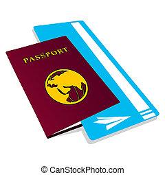 jelöltnévsor, útlevél