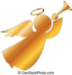 jel, arany, angyal