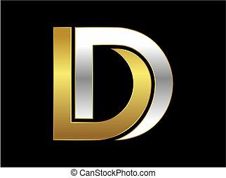 jel, arany-, levél, átmérő