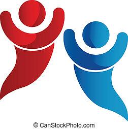 jel, barátság, társadalmi, számolás
