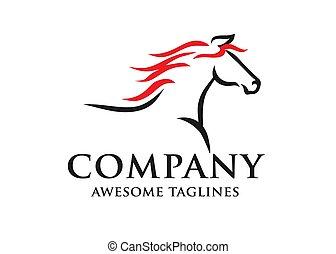 jel, egyszerű, versenyzés, skicc, ló
