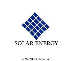 jel, energia, vektor, nap-