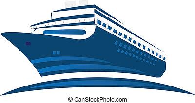 jel, hajó cruise