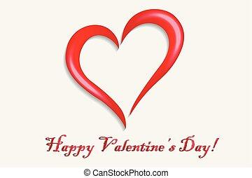 jel, jelkép, valentines, boldog, szív