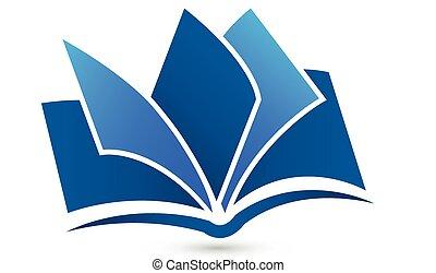 jel, jelkép, vektor, könyv