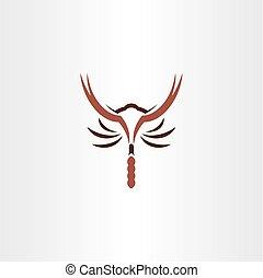 jel, jelkép, vektor, skorpió, ikon