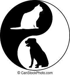 jel, macska, hím icon