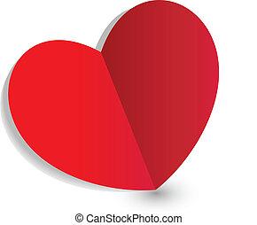 jel, nap, szív, valentines