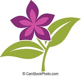 jel, színes, sablon, 10., virág, eps, design., vektor, ábra