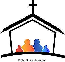 jel, templom, család, bizalom