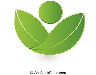 jel, természet, vektor, egészség