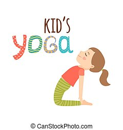 jel, tervezés, elszigetelt, gyerekek, jóga