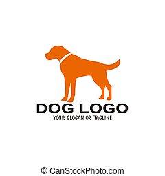 jel, tervezés, kutya, ábra, vektor