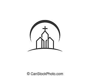 jel, vektor, templom