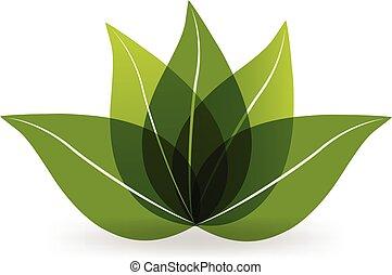 jel, zöld, lótusz