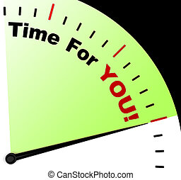 jelentés, üzenet, ön, bágyasztó, idő