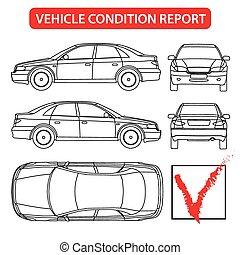 jelent, autó, feltétel, (car, ellenőriz