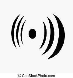 jelez, árnykép, antenna
