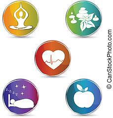jelkép, állhatatos, egészség